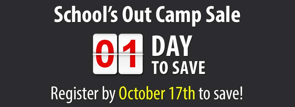 2019 School's Out Camp Sale