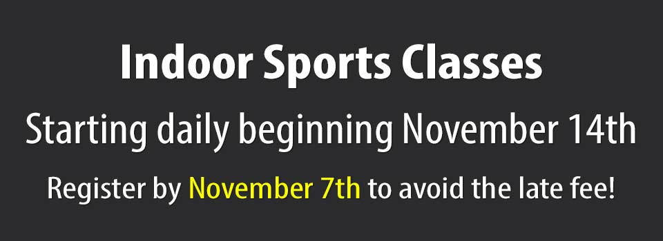 2019 Indoor Sports Classes