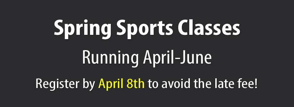 2021 Spring Sports Classes