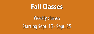 2018 Fall Classes Start